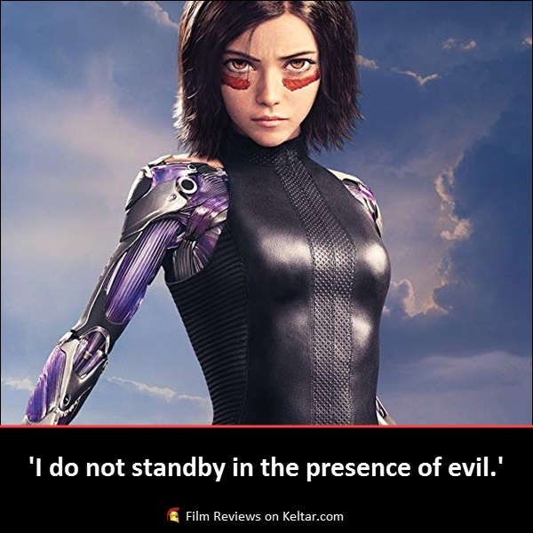 Alita: Battle Angel review – entertaining and visually exciting