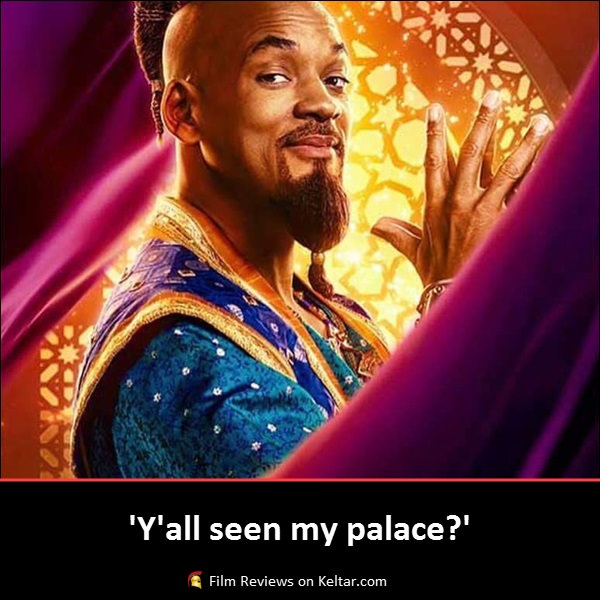 Aladdin (2019) is a respectable remake