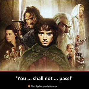 The Lord of The Rings: The Fellowship of The Ring (2001) is the ultimate fantasy film