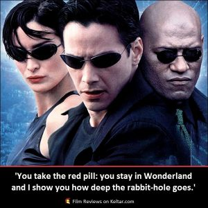 The Matrix (1999) is a ground-breaking action movie