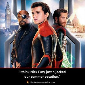 Spider-Man: Far From Home (2019) is another excellent and heartfelt Spider-Man movie